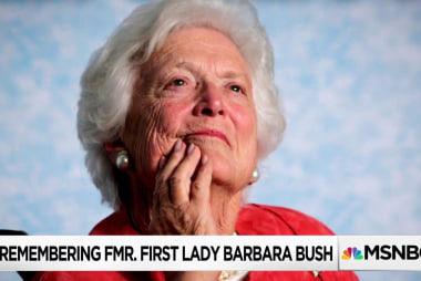 """""""A supernatural charisma"""": Inside Barbara Bush's inner circle"""