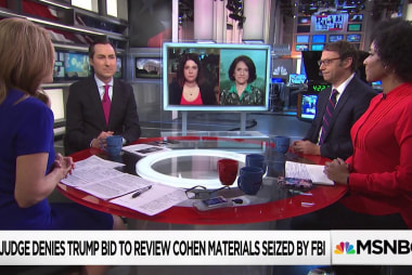 Trump still seething, White House on edge after ruling on Cohen raid