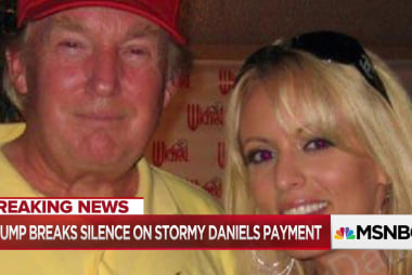 Nicolle Wallace and panel react to Trump's claim to reporters that he did not know about the 130,000 payment to Stormy Daniels