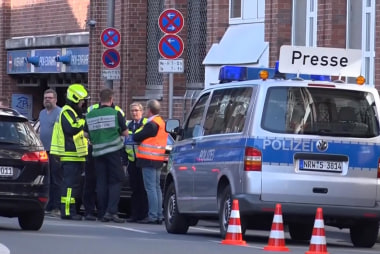 Vehicle plows into crowd in Germany killing, injuring several