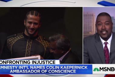 Kaepernick awarded Amnesty International's highest honor