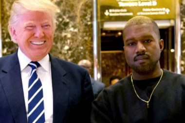 The 'bromance' between Kanye West, Trump