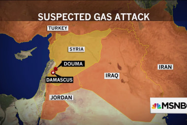 U.S. monitoring reports of suspected chemical attack in Syria