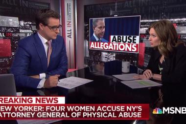 """""""Pretty sickening"""" Schneiderman abuse allegations"""