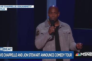 Dave Chapelle roasts Trump for new Jon Stewart tour