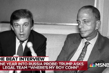 "Frank Rich: Trump, like Roy Cohn, ""nurtured"" by NY establishment"