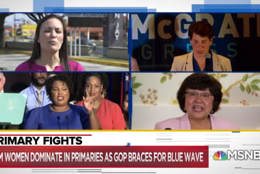 Democratic voters back unprecedented number of women candidates