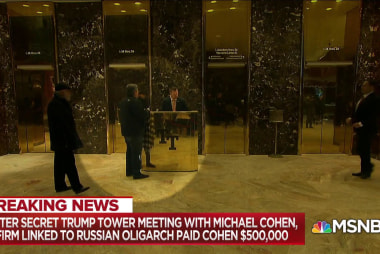 """Dean on Cohen meeting Russian: Trump """"infected"""" GOP with """"swamp"""""""