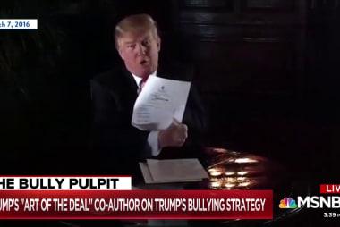 Trump co-author: He's broken Rosenstein's 'willingness to resist'