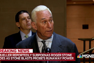 Mueller circling Roger Stone with new Russia probe subpoena