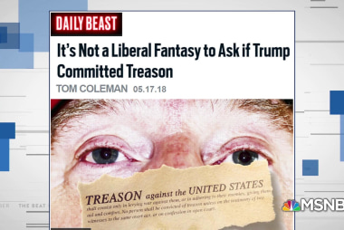 Fmr. GOP Rep presents the case for Trump committing treason