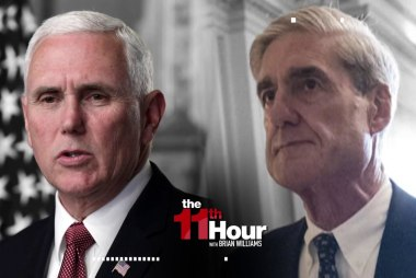 Mike Pence: It's time for Mueller to 'wrap up' Russia probe