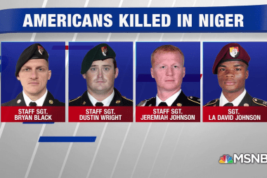 Multiple failures led to ambush of American troops in Niger