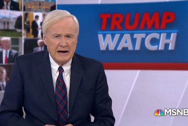Matthews: Trump opened the door for Russian interference
