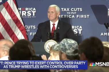 Report: Pence tries to control the Republican Party
