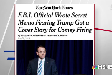 NYT: McCabe feared Rosenstein provided Trump cover for firing Comey