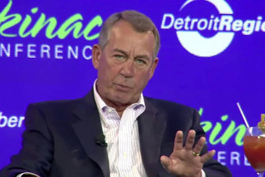 John Boehner: 'There is no Republican Party. There's a Trump party'