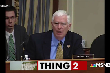 Rep. Mo Brooks: Falling rocks causing sea level rise