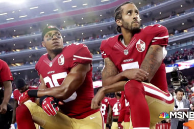 Why forcing on-field players to stand for anthem is authoritarian