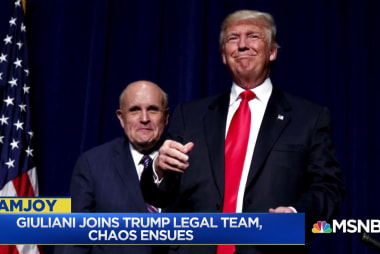 'Giuliani is basically just a shill for Donald Trump'
