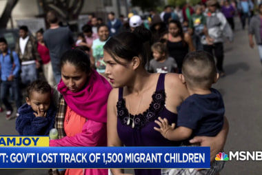 Where are the 1,500 immigrant children misplaced by federal agencies?