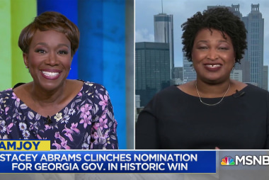 Stacey Abrams' win in Georgia ignites new era for Democratic party