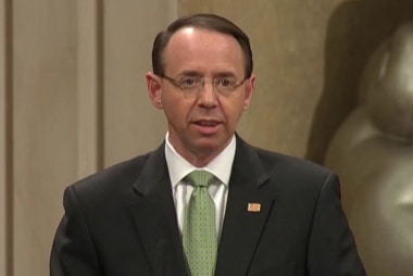 NYT Ed. Board: Rosenstein, Wray 'must stand up to the president'