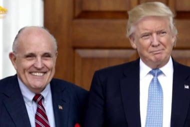 "Report: Trump ""frustrated"" with Giuliani over Stormy Daniels saga"