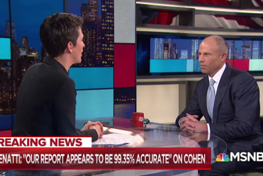 Avenatti: Michael Cohen only really has one employer