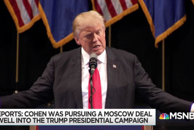 New reporting shows extent of Trump pursuit of Moscow project