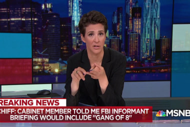 Breaking: Schiff expects Gang of 8 inclusion in DoJ briefing