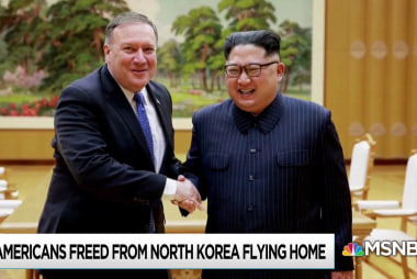 Three U.S. citizens headed home from North Korea imprisonment