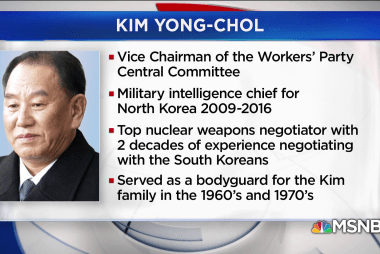 Who is Kim Yong Chol? Top North Korean official to meet with Pompeo