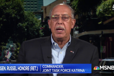 Lt. Gen. Russel Honore talks Hurricane Maria relief