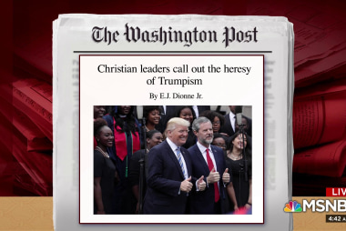 What drives evangelical support for Trump?
