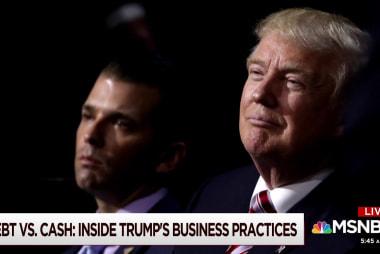 Trump spent over $400M in cash on properties: Report
