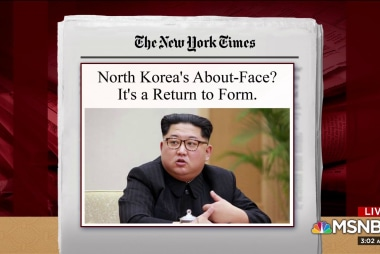 Joe: North Korea changing course is not a surprise
