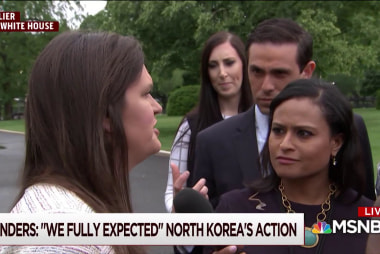 WH fully expected North Korea's move: Sanders