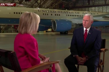 Pence channels Nixon in calling for investigation's end