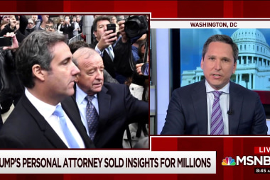 Cohen revelations open up new issues for Trump