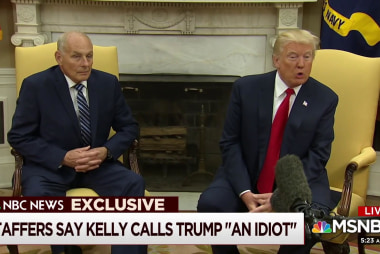 Trump grows increasingly frustrated with Kelly: NBC News