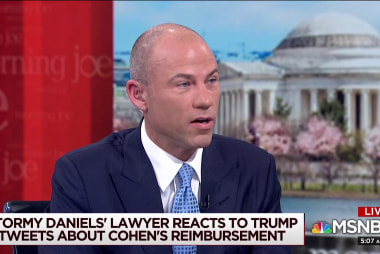 Stormy Daniels attorney: Trump WH in full panic mode