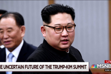 Looking ahead to the possible North Korea summit