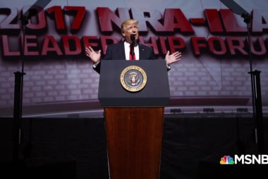 Will Trump challenge the NRA at convention?