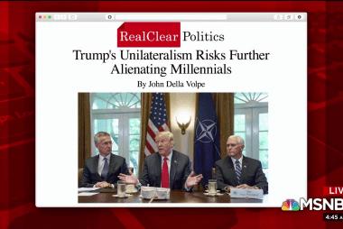 How 'America First' risks alienating millennials
