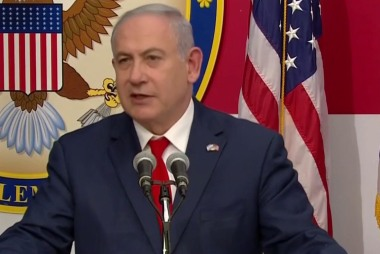 Netanyahu salutes forces protecting border at embassy opening in Jerusalem