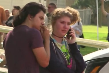 Student believes the suspect in Texas school shooting 'just snapped'