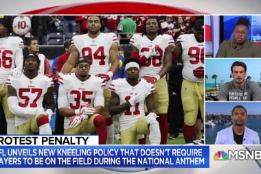 Tynes: NFL kneeling rule submits to Trump's 'fear-mongering'
