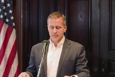 Embattled Missouri Governor Eric Greitens resigns