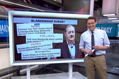 Blankenship takes center stage in first Super Tuesday Primary